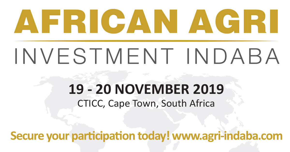 African Agri Investment Indaba - Agriculture Investment Conference