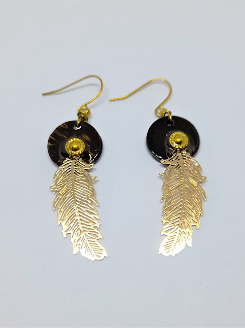Chic Maddy Gold Earrings
