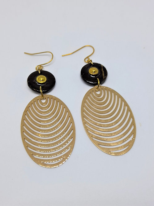 Laya Gold Earrings