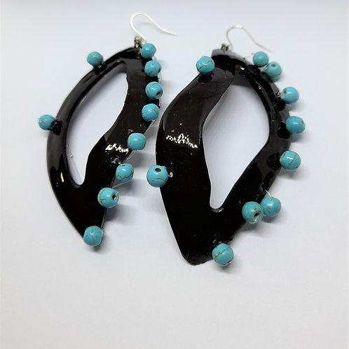 Addison Turquoise Unique Earrings
