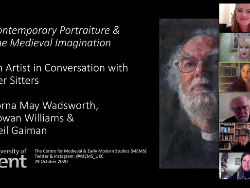 Contemporary Portraiture and the Medieval Imagination: An Artist in Conversation with Her Sitters