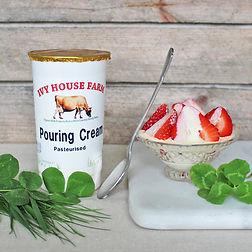 Organic Jersey Pouring Cream