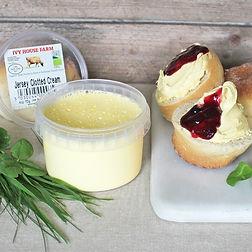 Organic Jersey Clotted Cream