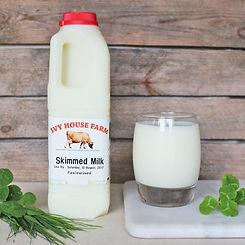 Organic Jersey Skimmed Milk