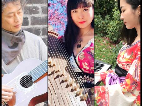 "【♫Facebook concert with special guests -""Yujiro""(guitar) & ""Seirashi""(piano)】Facebookコンサート スペシャルゲスト!"