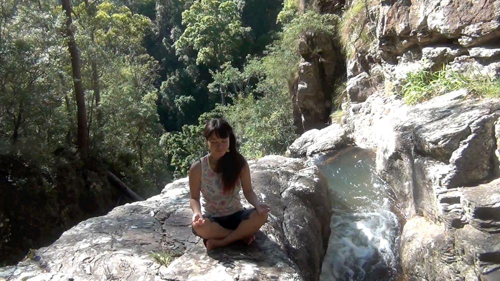 rainforest, pico, meditating, australia, NSW