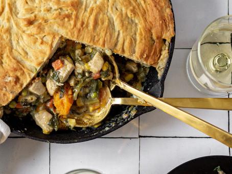 Low FODMAP Chicken Pot Pie - Gluten Free with Veggie Friendly Option | Pretty Delicious Life