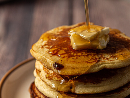 Best Crispy, Fluffy Gluten Free Dairy Free Pancakes | Pretty Delicious Life