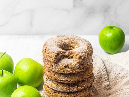 Low FODMAP, Grain Free Apple Cider Donuts - A low FODMAP diet friendly dessert