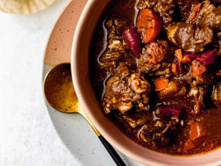 Low FODMAP Friendly Beef Stew - Adapted from The Flexible Chef