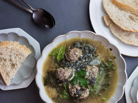 Low FODMAP Italian Wedding Soup - Featuring Gourmend Foods | Pretty Delicious Life