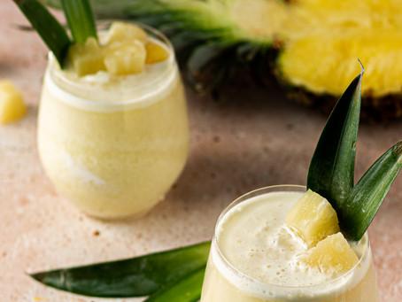 Virgin Piña Colada Mocktail Recipe - A CBD Mocktail | Pretty Delicious Life