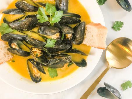 Seafood Fest: Low FODMAP Mussels