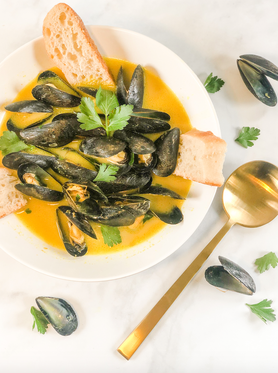 Pretty Delicious Life Low FODMAP Mussels