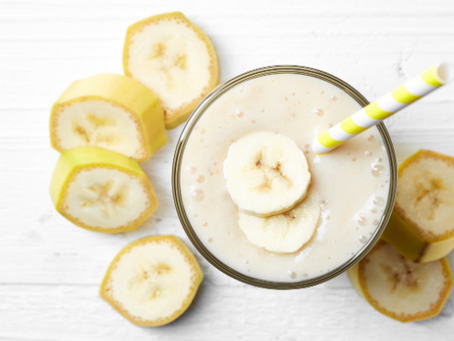 Nut Butter + Banana Power Smoothie