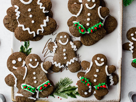 Best Paleo Gingerbread Cookies | Pretty Delicious Life