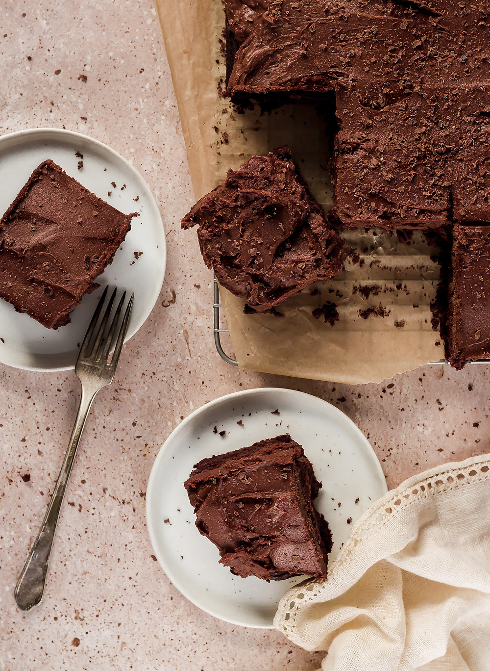Vegan Gluten Free Chocolate Cake with Vegan Chocolate Buttercream Frosting | Pretty Delicious Life - I have been spending a lot of time reading through my Grammy's recipe books for inspiration lately. She is the main reason I have such a deep love of baking.