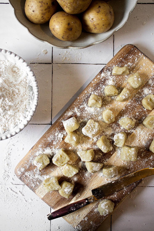 Gluten Free Vegan Gnocchi