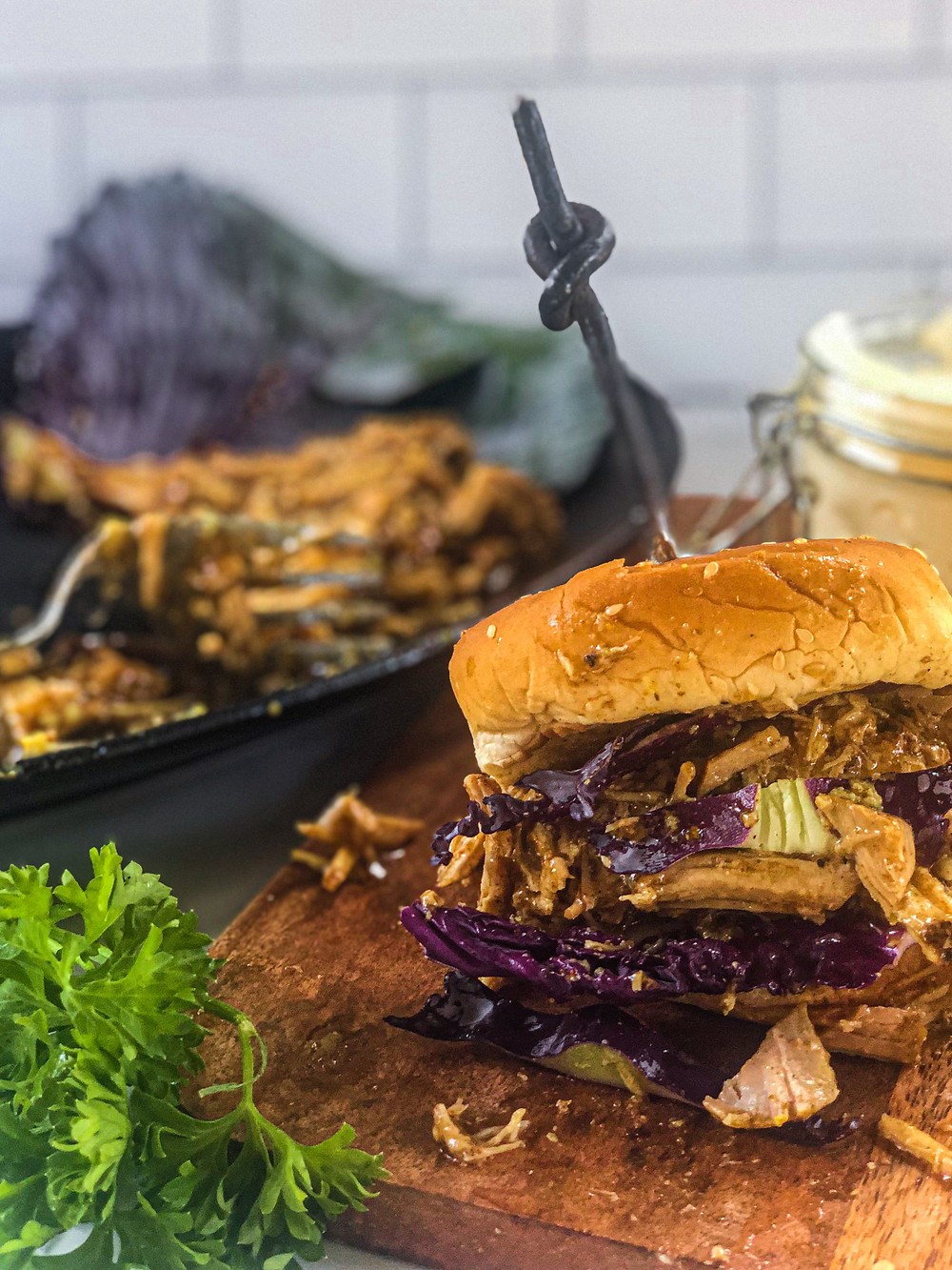 Pretty Delicious Life Slow Cooker Low FODMAP Pulled Pork