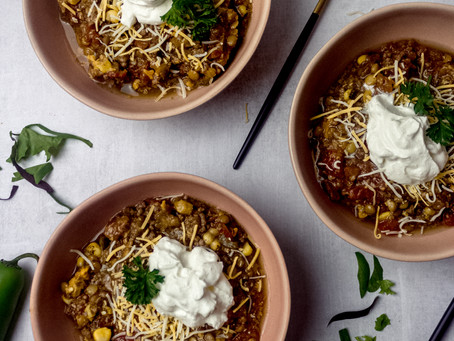 Slow Cooker Low FODMAP Taco Soup