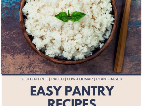 Pantry Staples – 8 Easy Recipes (an eBook)