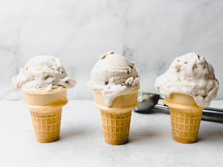 Dairy Free Maple Bourbon Pecan Ice Cream