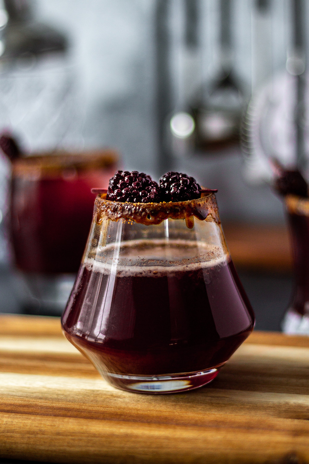 Blackberry Chai Simple Syrup Recipe - for Recess CBD Seltzer Mocktails | Pretty Delicious Life - Looking for a simple mocktail recipe to make at home? Maybe an easy mocktail recipe for game day or Valentine's Day?! Then look no further than this Blackberry Chai Mocktail! This delicious blackberry chai mocktail