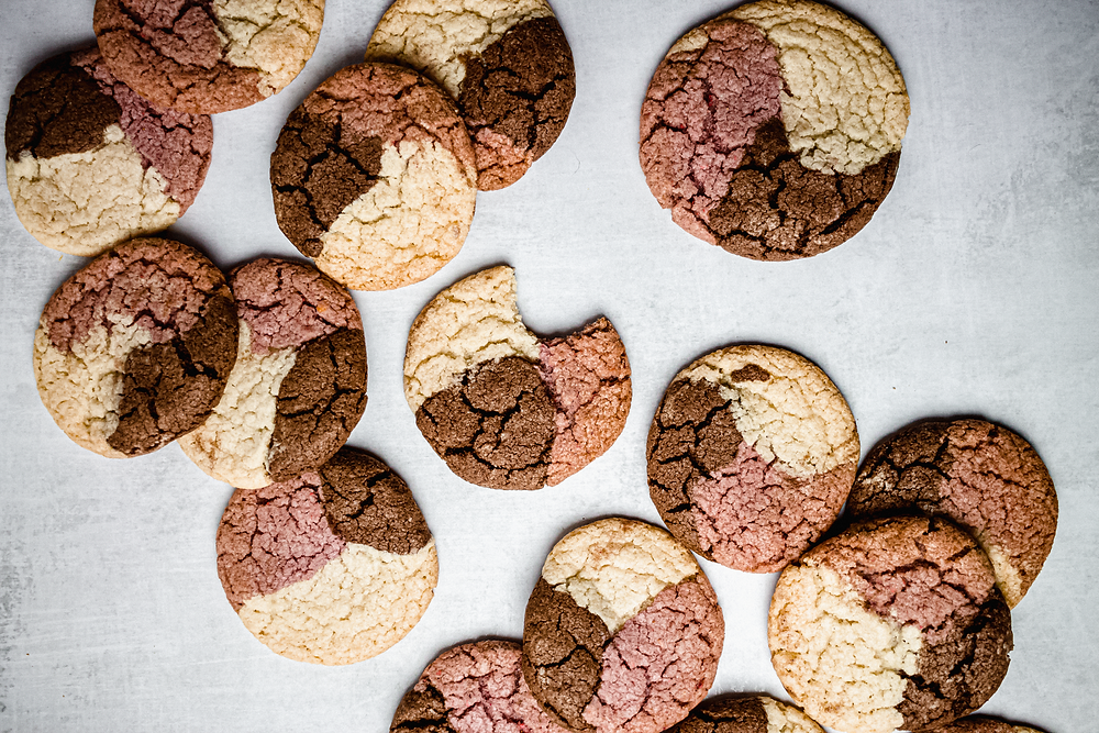 Pretty Delicious Life Paleo, Low FODMAP Friendly Neapolitan Sugar Cookies - Neapolitan Cookies. I've seen them floating around the internet this summer and had it in my mind that I needed to try them, which of course would require me to take apart a recipe and put it back together as a gluten free/as-close-to-paleo