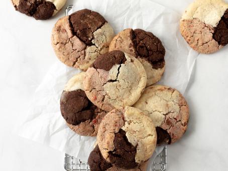 Paleo Gluten Free Neapolitan Sugar Cookies | Pretty Delicious Life