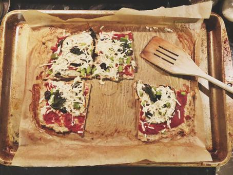 Paleo Low-FODMAP Chicken Pizza Crust
