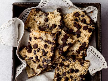 Vegan Gluten Free Magic Cookie Bars - A Refined Sugar Free Dessert | Pretty Delicious Life