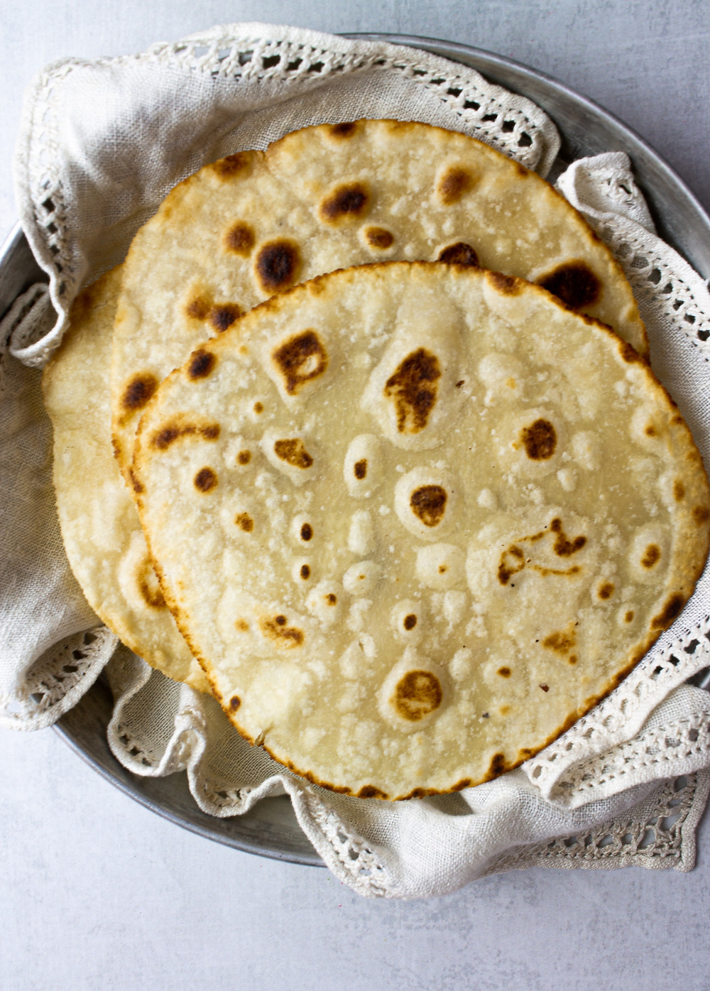 Grain Free Paleo Tortilla Recipe - Egg Free, Low Carb Tortillas | Pretty Delicious Life - Finding tortillas that are not just grain free, but also vegan and low carb tortillas is not an easy task but making paleo vegan tortillas at home is! This super simple tortilla recipe requires just 5 ingredients that you likely