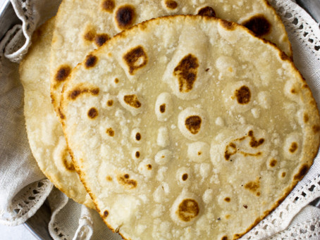 Grain Free Paleo Tortilla Recipe - Egg Free, Low Carb Tortillas | Pretty Delicious Life