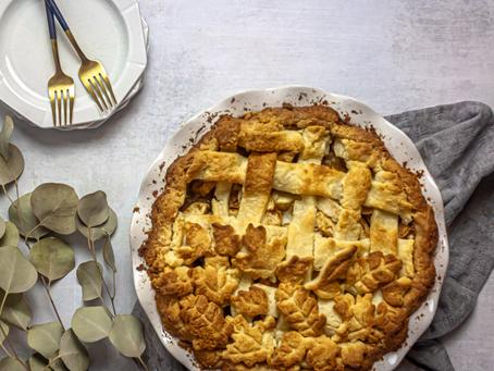 Gluten Free, Refined Sugar Free Apple Pie