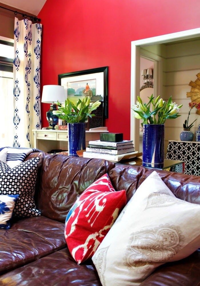 red family room