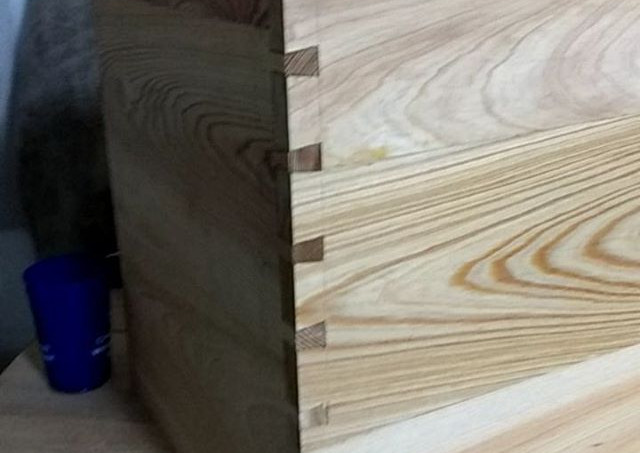 Dovetails! A woohoo! 🎶🎶 #charlestownew