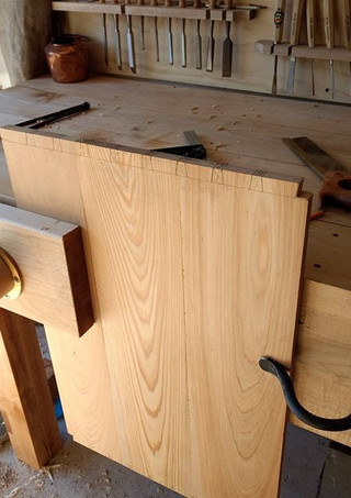 Nothing more satisfying as a #woodworker