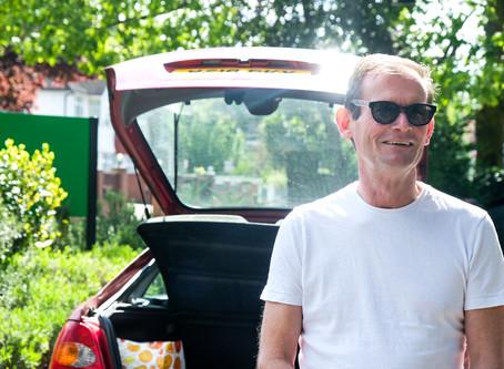 Behind the scenes - delivery volunteer driver Mick