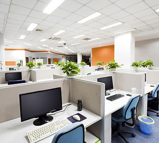 clean office building