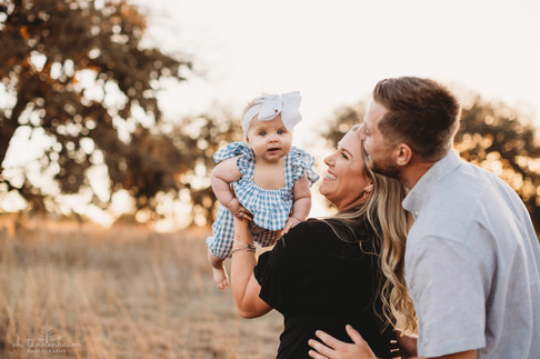 Six month baby milestone portrait session at Joshua Springs Nature Preserve in Comfort, Texas by Oh, Tannenbaum Photography