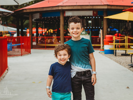 Brothers Celebrate Birthdays at the Park