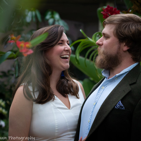 Engagement at the Gardens