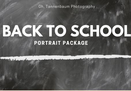 Back to School Portrait Package