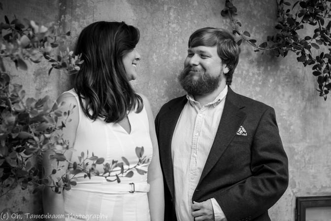 Engagement at Botanical Gardens