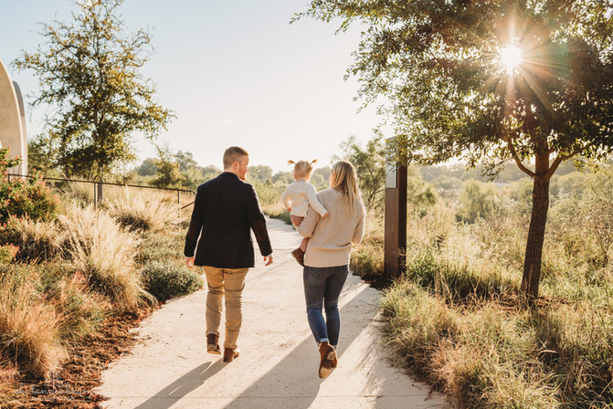 Family Photography Session at Confluence Park, Texas by Oh, Tannenbaum Photography