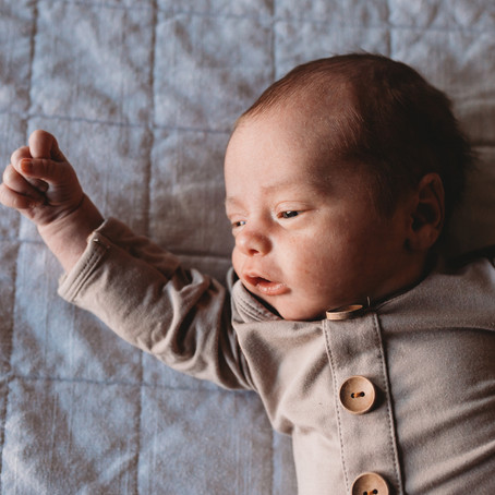 Newborn Sessions with Siblings