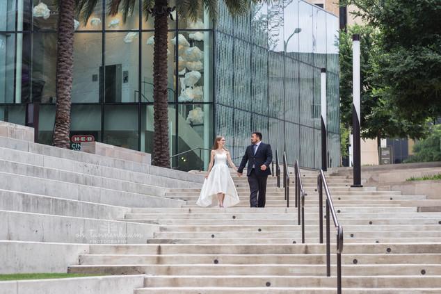 tobin center wedding