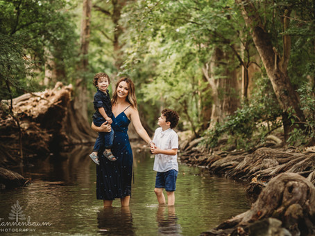 Family Photos - River Session Edition