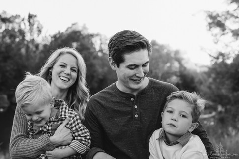 Fall family portraits at Confluence Park in San Antonio, Texas by Oh, Tannenbaum Photography
