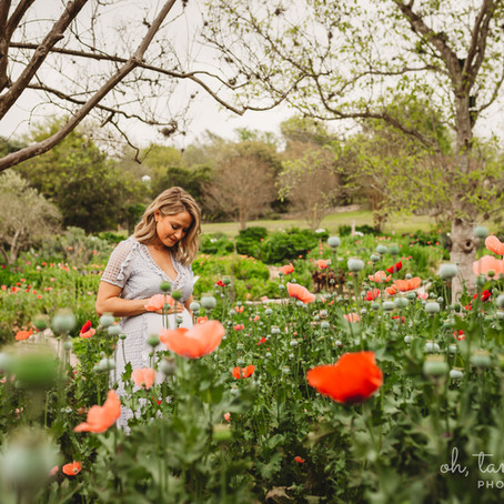 Maternity Session at the Gardens
